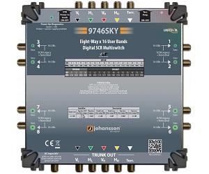 9746 - Мультисвитч DSCR каскадируемый 8 RF выходов, 128 абонентов