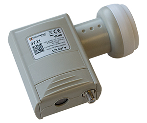 9721 - DIGITAL SCR LNB - SCR LNB конвертор  с подключением 24-х или 32-х пользователей