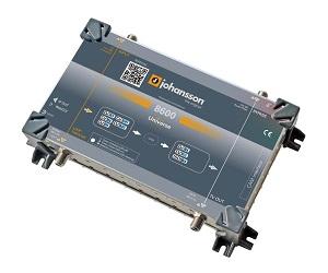 8600 –UNIVERSE - Мини ГС JOHANSSON (1 вход DVB-S/S2/T/T2/C + 1 CI => 1 выход DVB-T и IP)